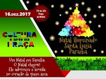 NATAL ILUMINADO para as famílias de Santa Luzia será neste sábado
