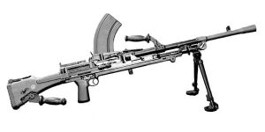 Senjata DP-28 – Light Machine Gun PUBG