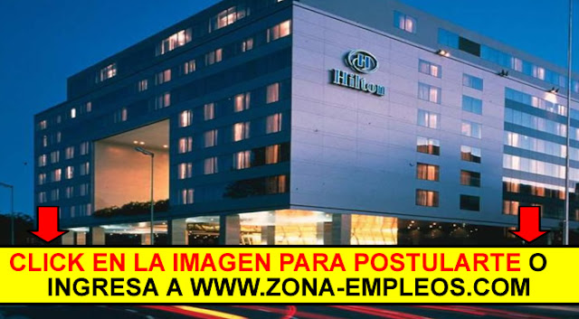 SE BUSCA PERSONAL PARA HOTEL HILTON