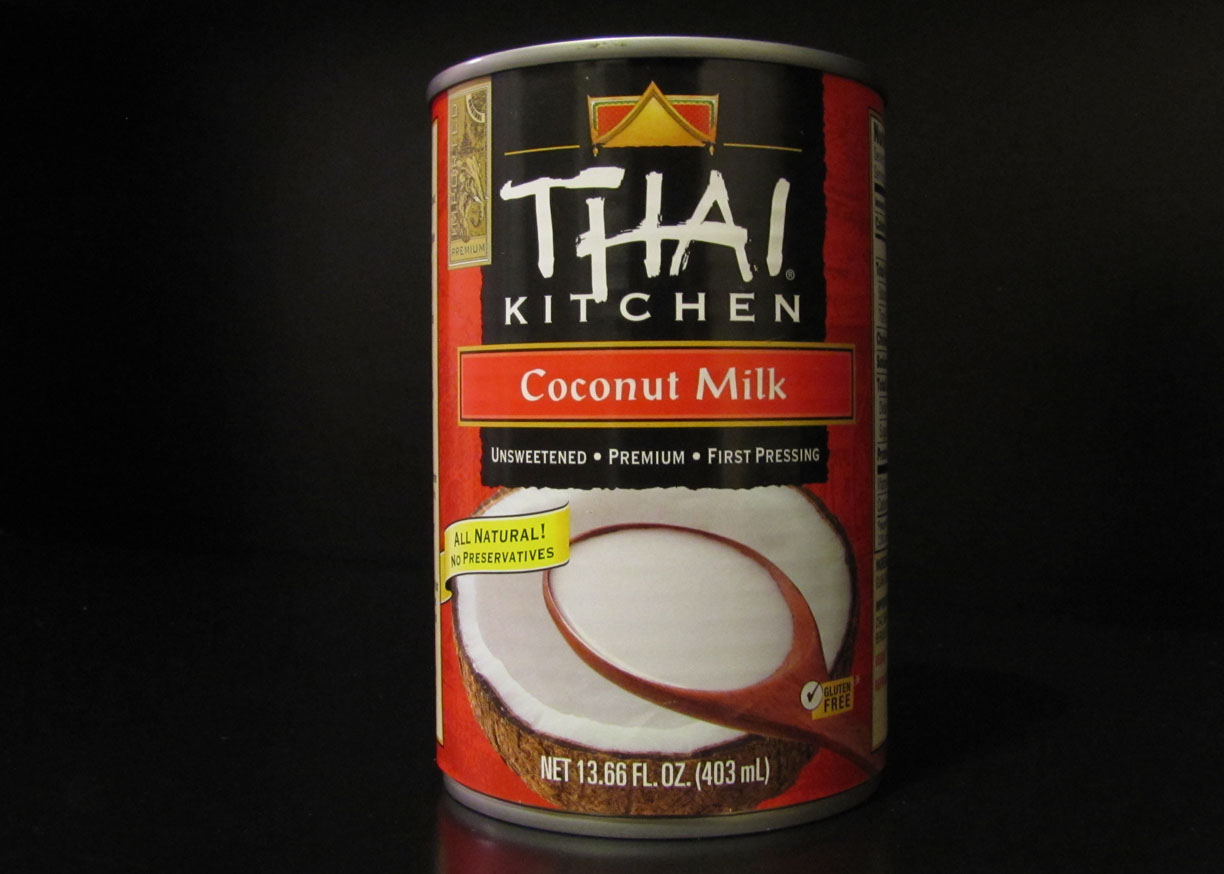 thai kitchen organic coconut milk professional faucet smells like food in here