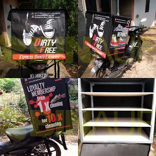 Tas delivery box makanan Surabaya sepatu