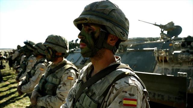 """España envía tropas cerca de Rusia y está """"lista para intervenir"""""""
