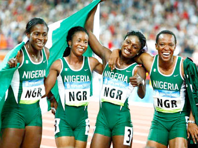 nigerian athletes banned drug london