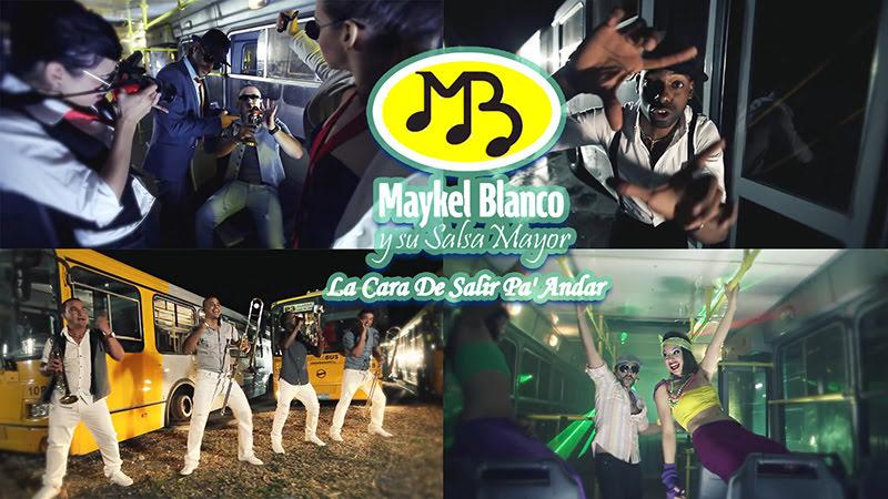 Maykel Blanco y su Salsa Mayor - ¨La cara de salir pa' andar¨ - Videoclip. Portal del Vídeo Clip Cubano
