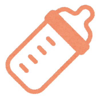 哺乳瓶のマーク