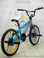 Sepeda BMX United Jumper-X 01 Freestyle 20 Inci Blue
