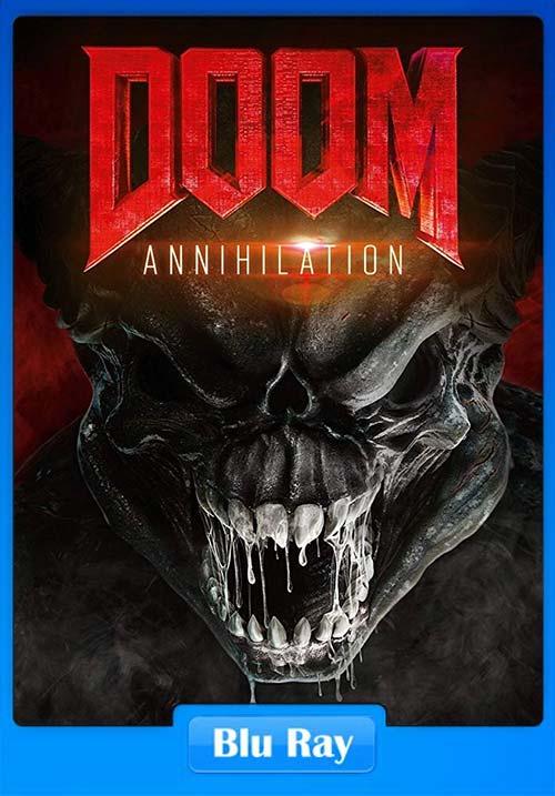 Doom Annihilation 2019 720p BluRay x264 | 480p 300MB | 100MB HEVC Poster