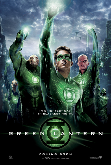 Poster of Green Lantern 2011 ExTended 720p Hindi BRRip Dual Audio Full Movie