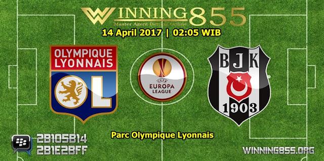 Prediksi Skor Lyon vs Besiktas 14 April 2017