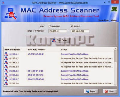 MACAddressScanner 2.0 + Portable Free Download
