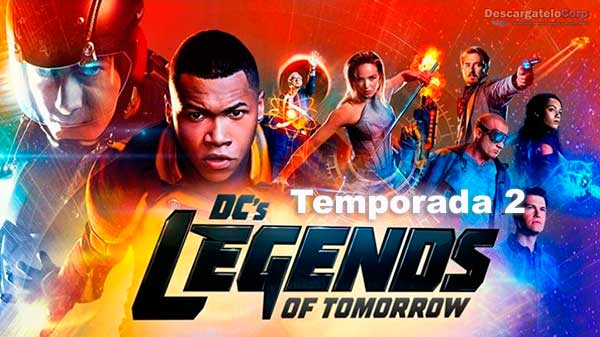 Legend of Tomorrow Temporada 2 HD Español Latino