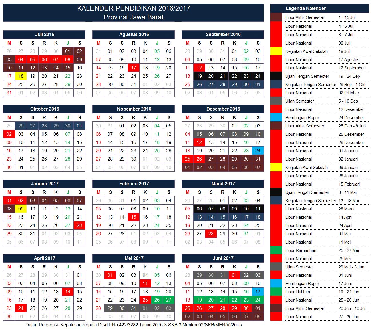 Kalender Pendidikan Provinsi Jawa Barat