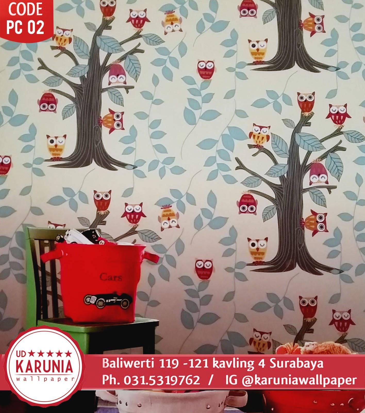 wallpaper motif anak surabaya murah