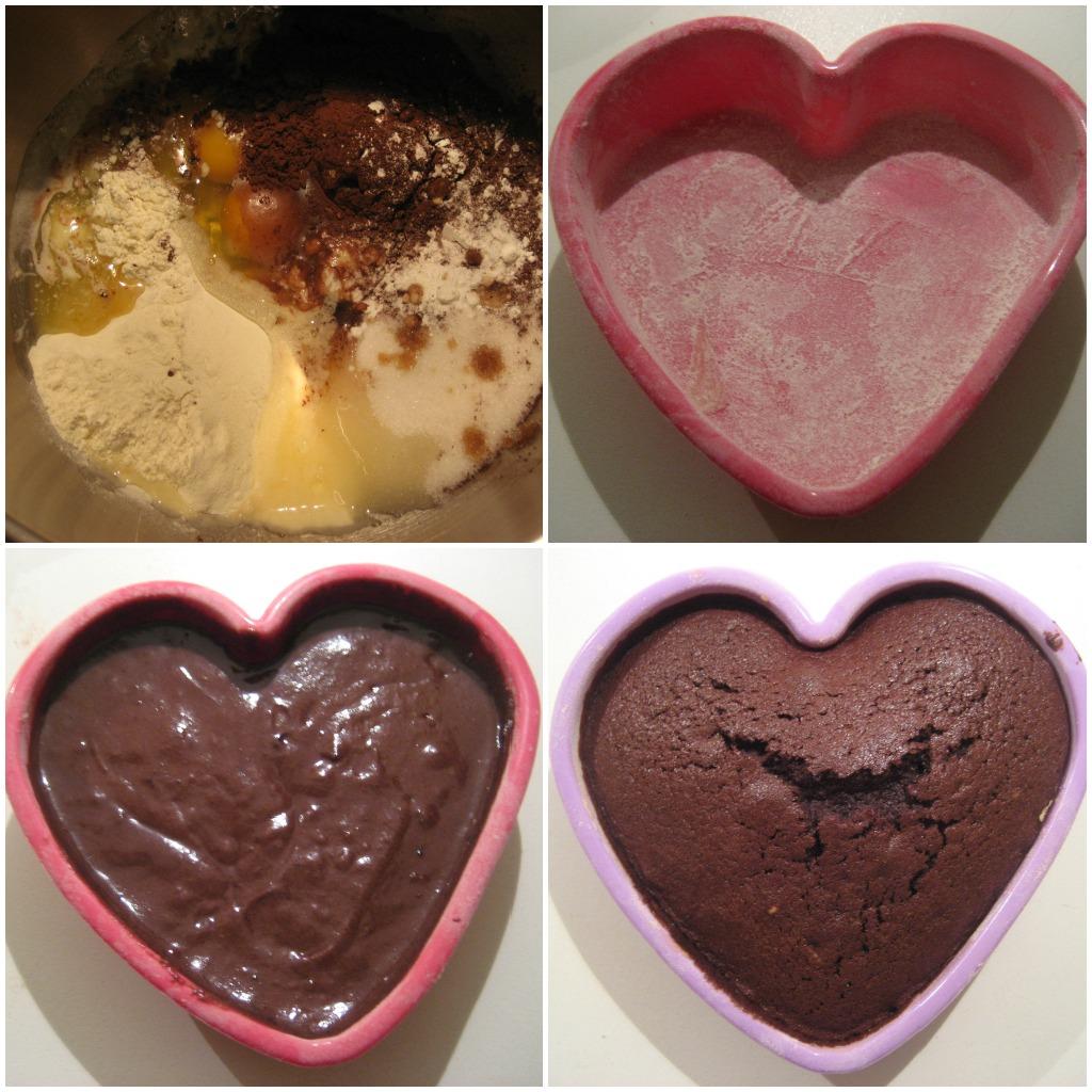 spesso Pasticciando in cucina: Tortino al cioccolato a forma di cuore  UP45