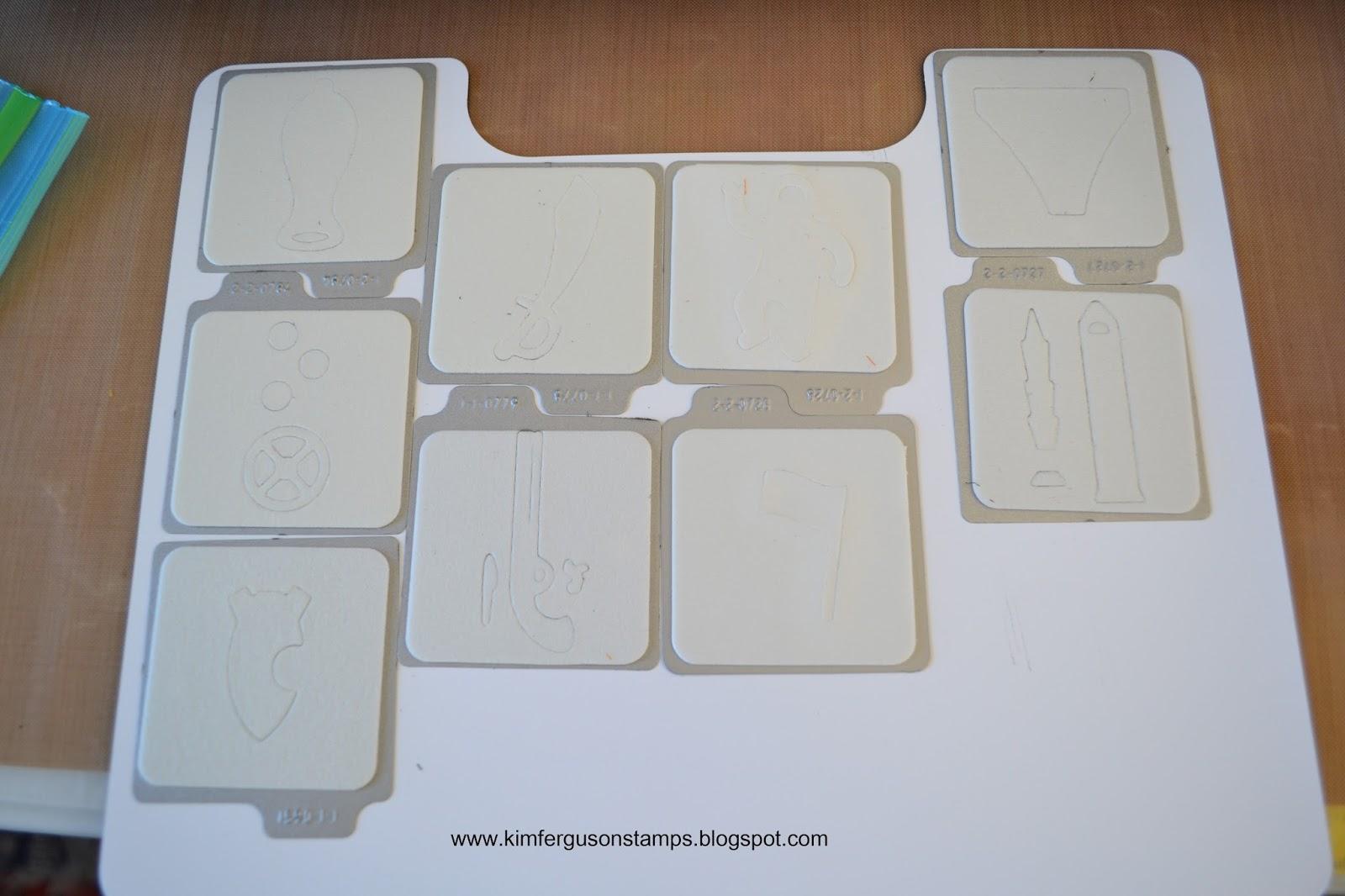 Kim Ferguson S Paper Crafting Blog Metal Die Cut Storage
