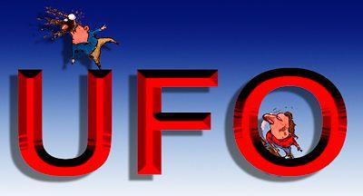 Hocking Loogies at UFO Journalism