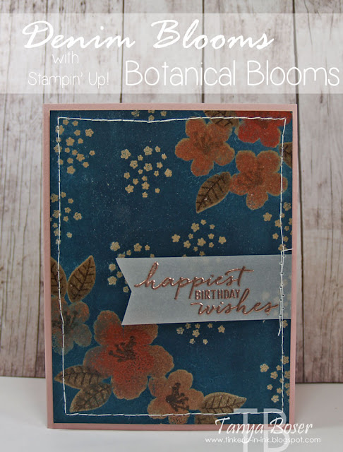 tinkerin in ink with tanya stamp review crew botanical blooms edition. Black Bedroom Furniture Sets. Home Design Ideas