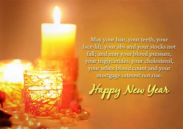 happy new year greetings making