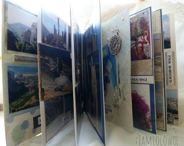 album z podróży po Grecji
