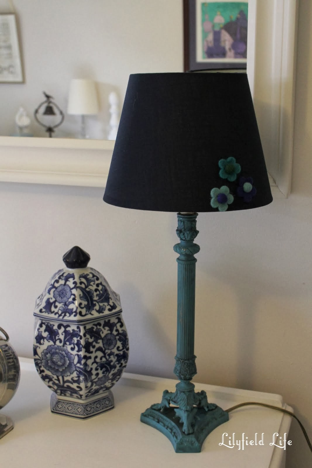 Lilyfield Life Lamp Makeover With Annie Sloan Chalk Paint