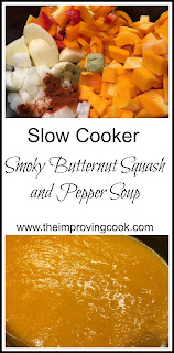 The Improving Cook- Slow Cooker Smoky Butternut Squash Soup