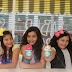 Blogueiras mirins apresentam sorvetes especiais da Sorveteria da Barra