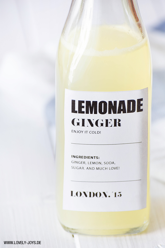 Ginger Beer Lemonade