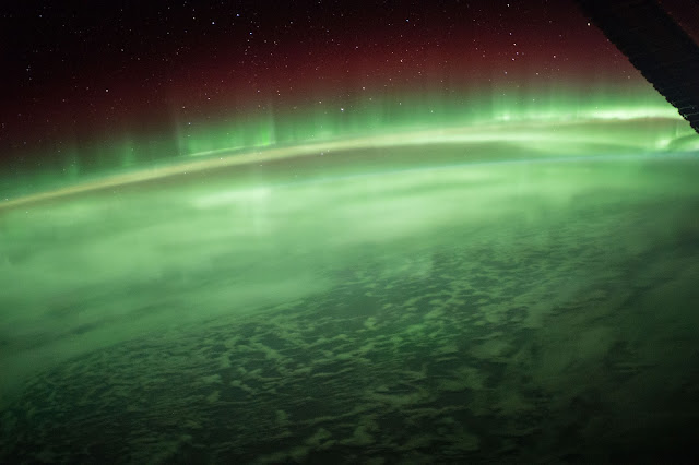 Flying Through an Aurora