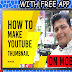 YouTube Thumbnail - EASY WAY FOR NEW YOUTUBERS : How To Make A Thumbnail On Mobile