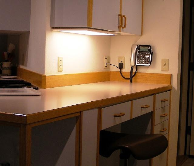 Lighting For Under Kitchen Cabinets: Tom's OSU: September 2015