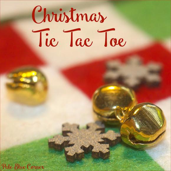 Felt Christmas Coasters, Tic Tac Toe