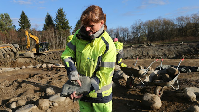 3,000 year old graves found in Norway