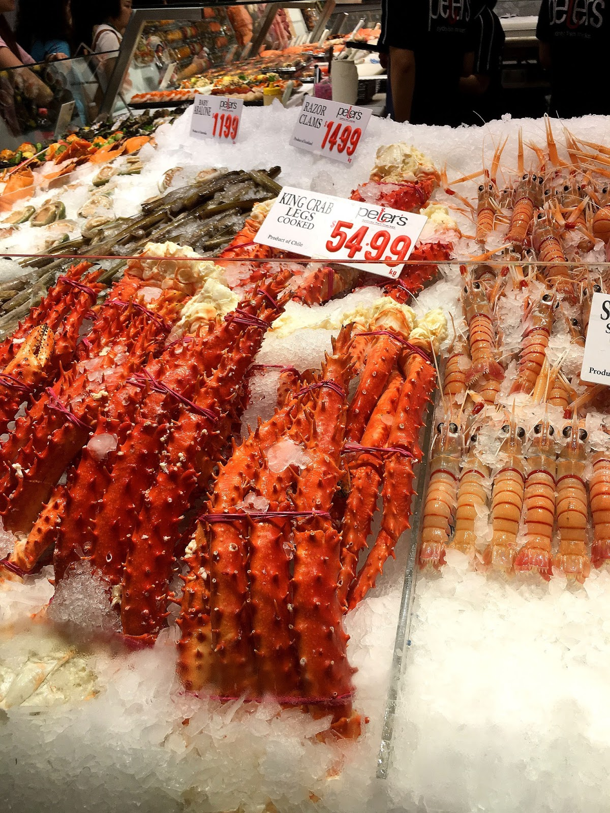 Searching for seafood in sydney fish market adventurous for King fish market
