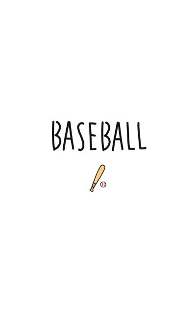 simple baseball love