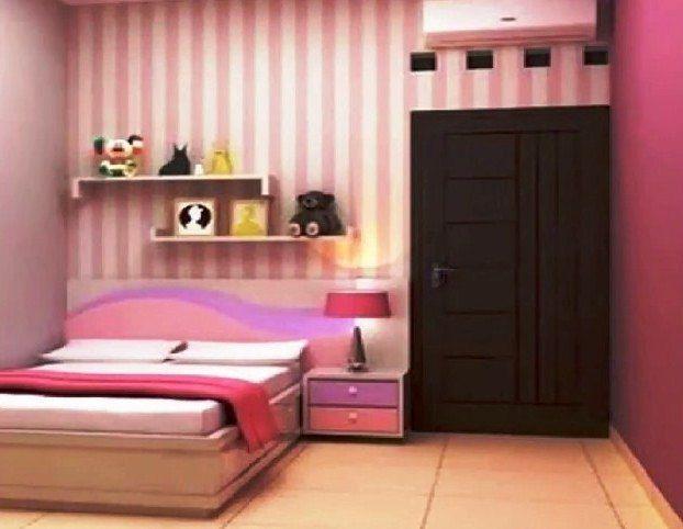 Gambar Desain Kamar Tidur Sempit Ukuran 2x3