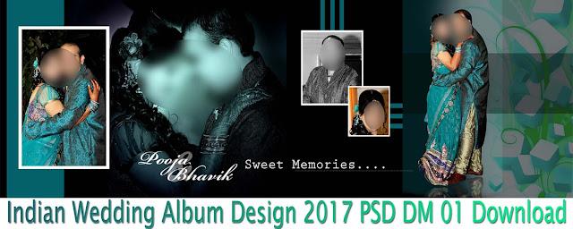 Indian Wedding Album Design 2017