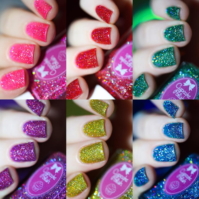 cupcake polish candy land swatches