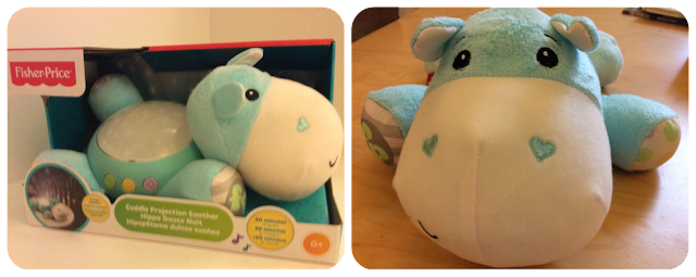 Fisher-Price Hippo Cuddle Projection Soother