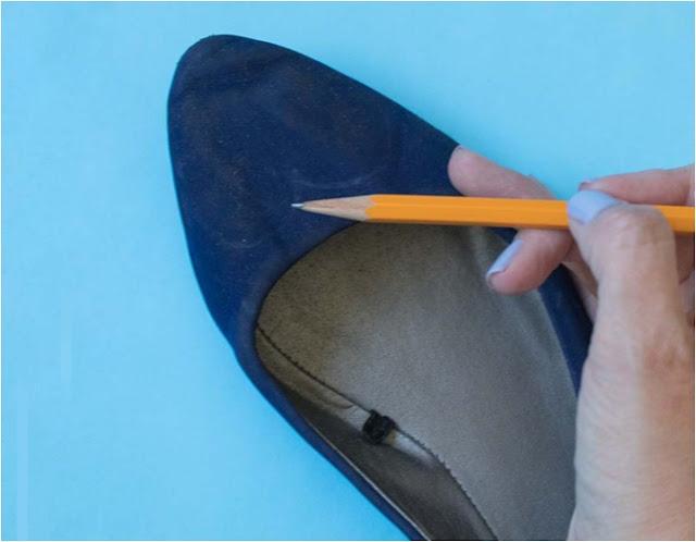 simle babet ayakkabı nasıl süslenir