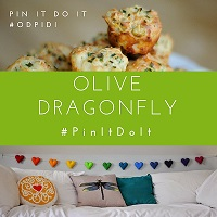 Olive Dragonfly Pin It Do It
