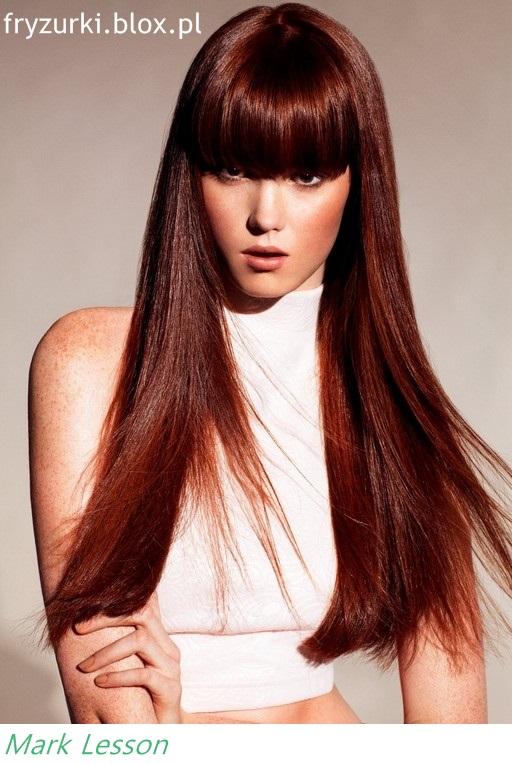 Wwwwlosyes Katalog Modnych Fryzur Długie Proste Włosy Z