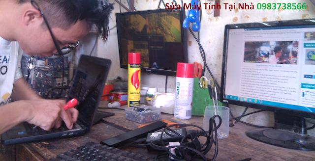 Sửa máy tính tại nhà Đê La Thành