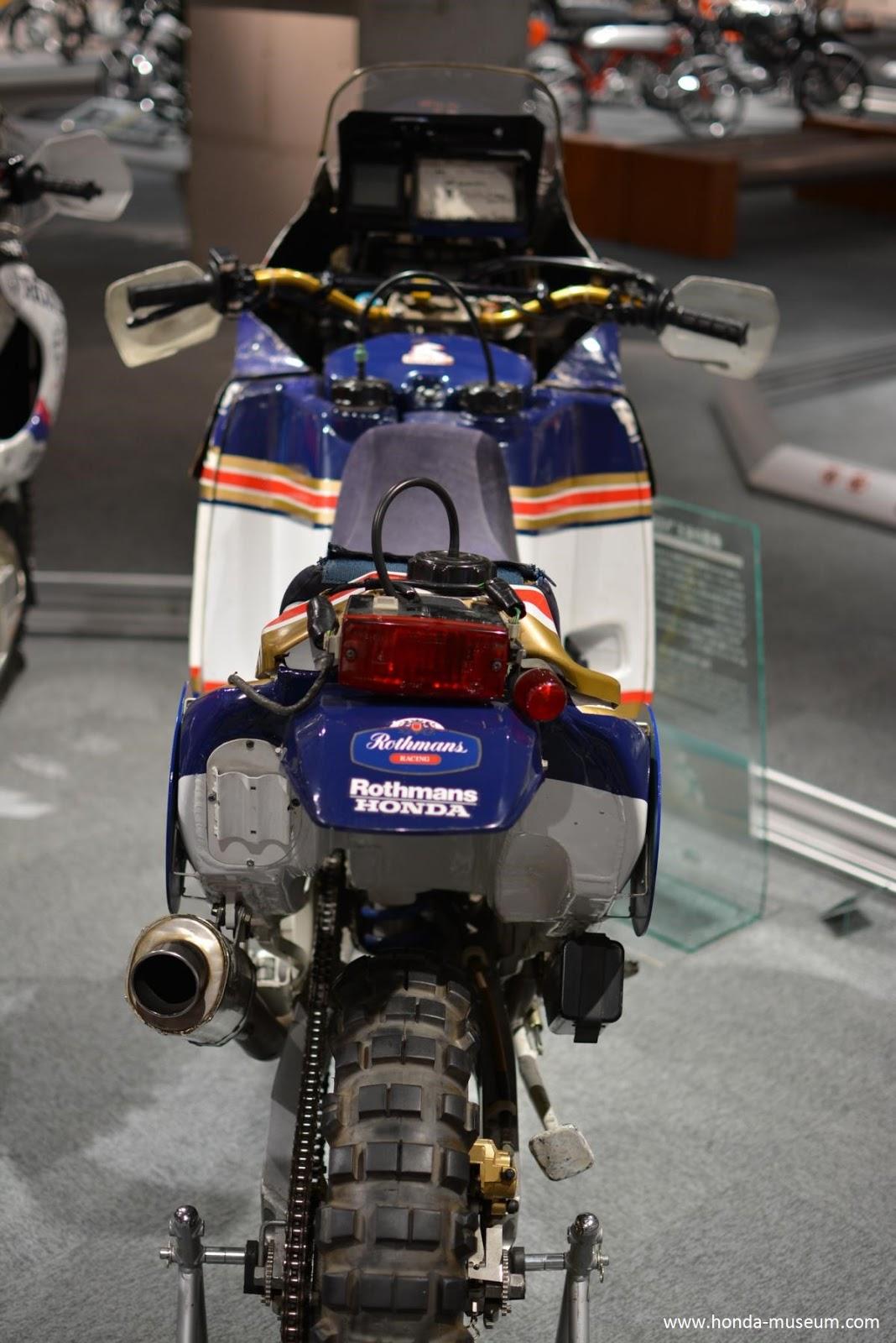 Africa Twin: Honda - Paris Dakar 1989 - NXR 750