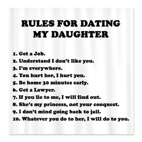 10 simple rules for dating my teenage daughter wiki