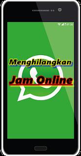 Jam Online Di Whatsapp/wa Tidak Tampil