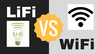 WiFi-Basic Difference between LiFi and WiFi