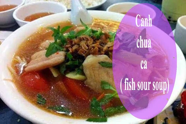Canh chua ca ( fish sour soup)