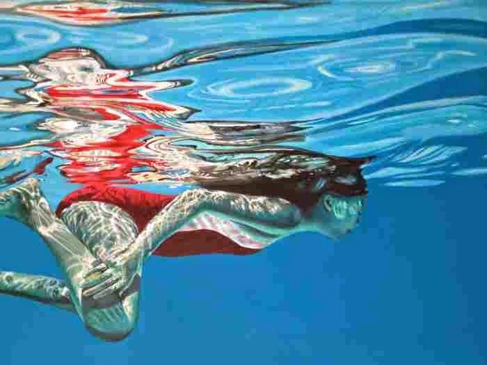 Картины о свете и цвете. Brigitte Yoshiko Pruchnow