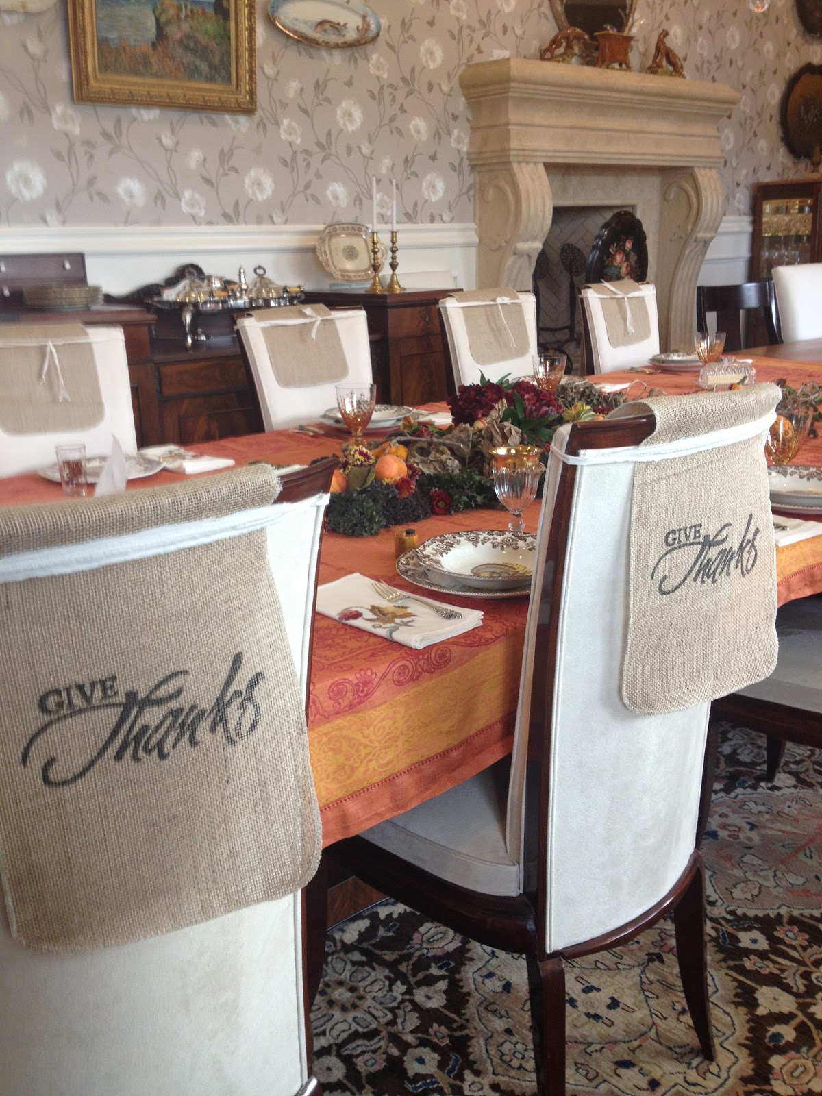 william sonoma chair covers bedroom chairs amazon pam 39s tablescapes thanksgiving 2012