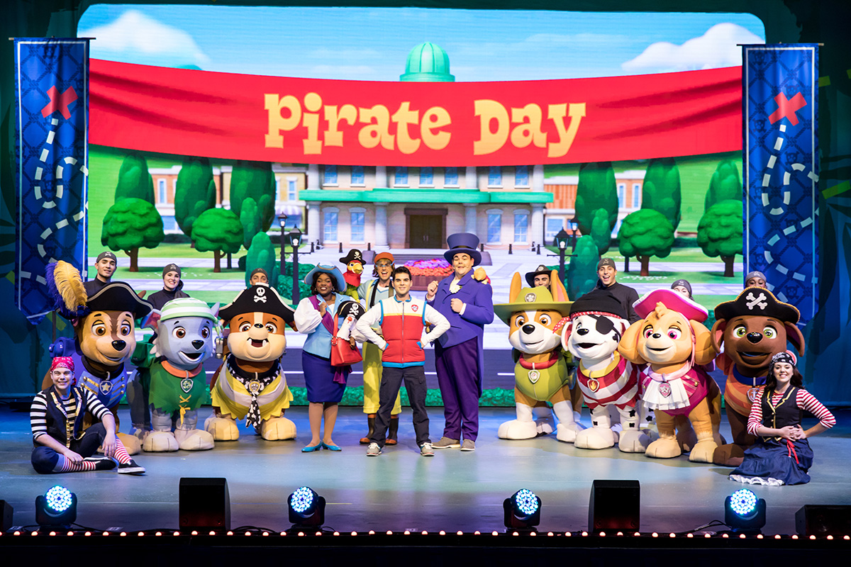 Nickalive Paw Patrol Live Quot The Great Pirate Adventure